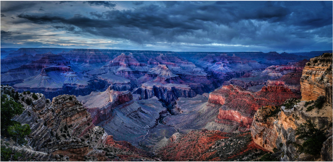 Twilight Grand Canyon