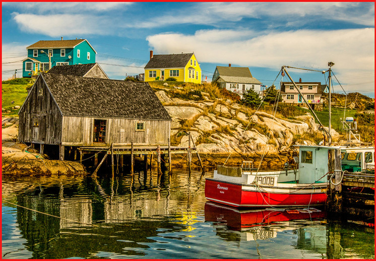 Harbor Town By Janice Ivaska, HM Class A