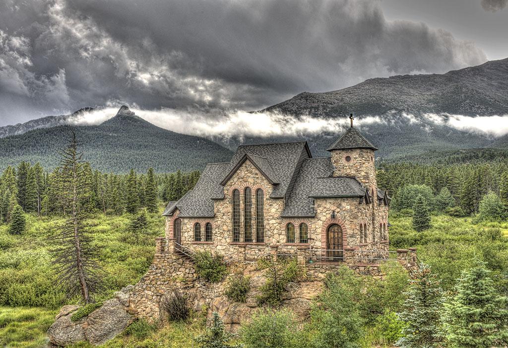 Church in the Rockies