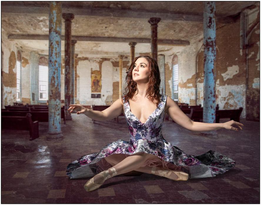 Dancer in Repose