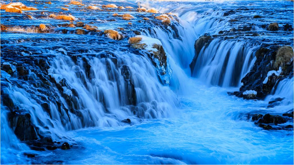The Bruarfoss in Iceland