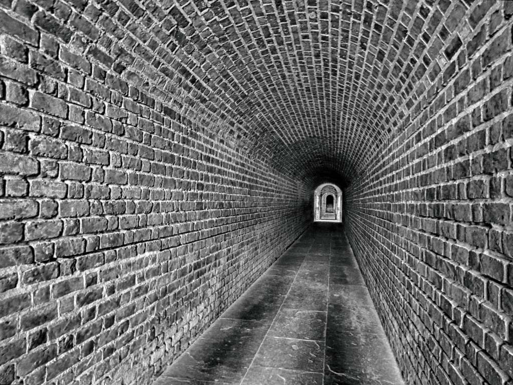 Under Fort Clinch