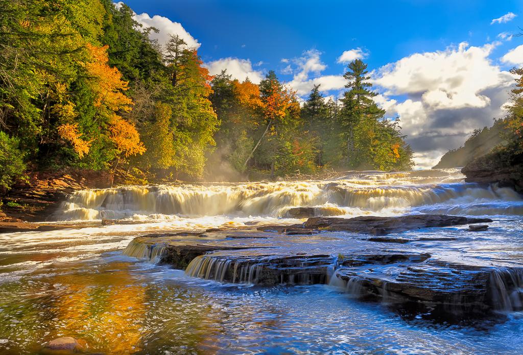 Manido Falls Michigan
