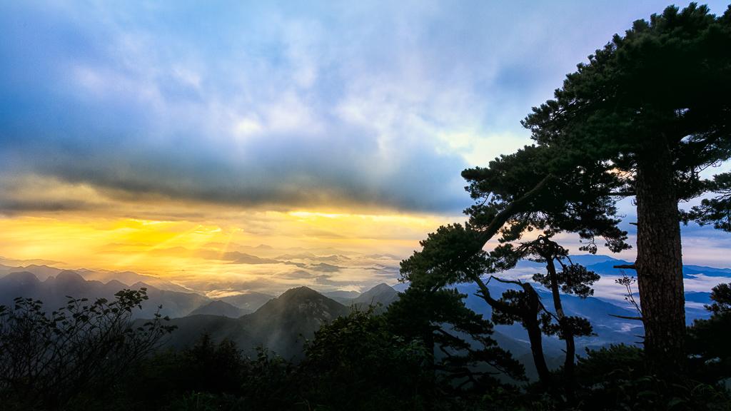Mountain Sanqing Sunrise