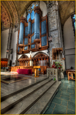 Organ Pipes at Rockefeller Chapel