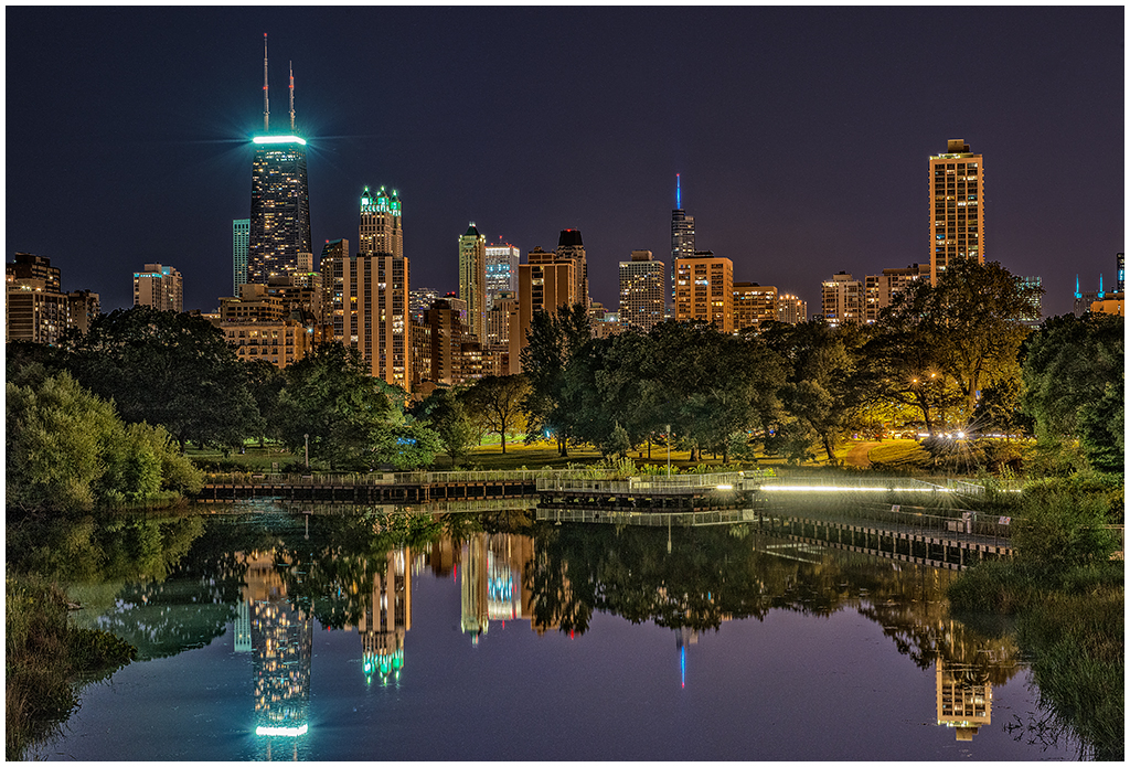 View from Lincoln Park