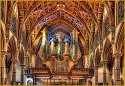 Balcony and Organ at St Paul