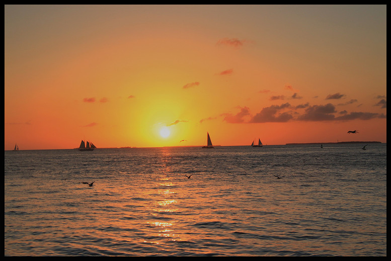 Sunset on Key West By  Mary Murawski Award Small Color Class B