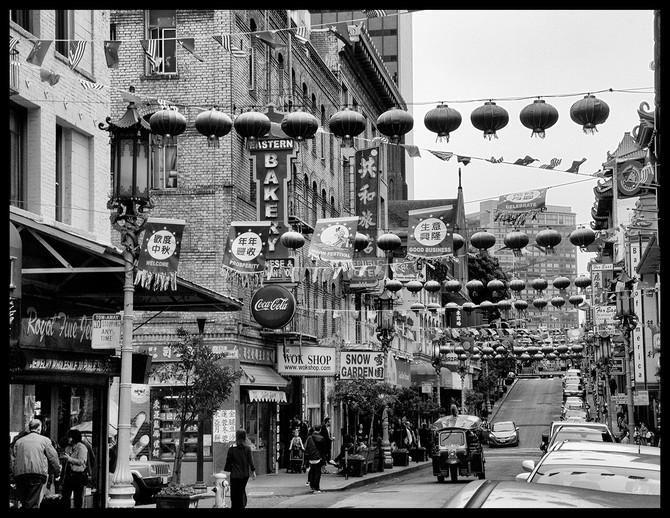 Chinatown in SF By  Mary Murawski HM Small Mono Class B