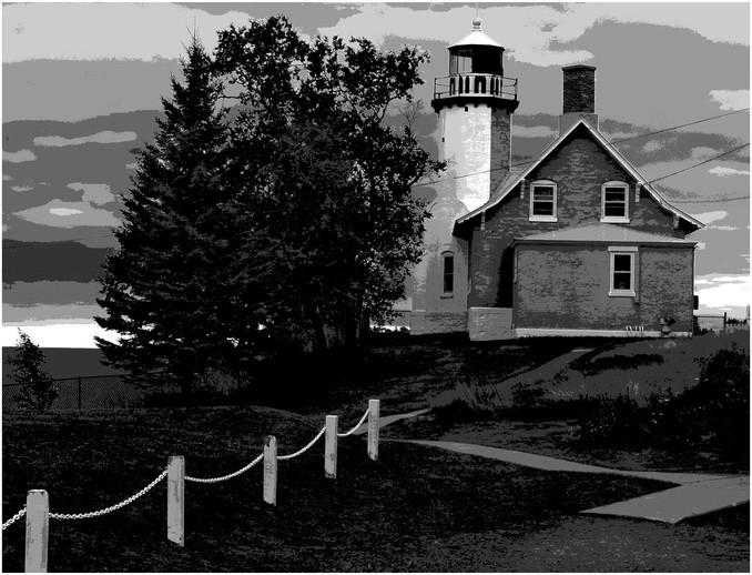 Michigan Lighthouse No. 2 By Joe Falout