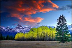 Mount Peskett Sunset