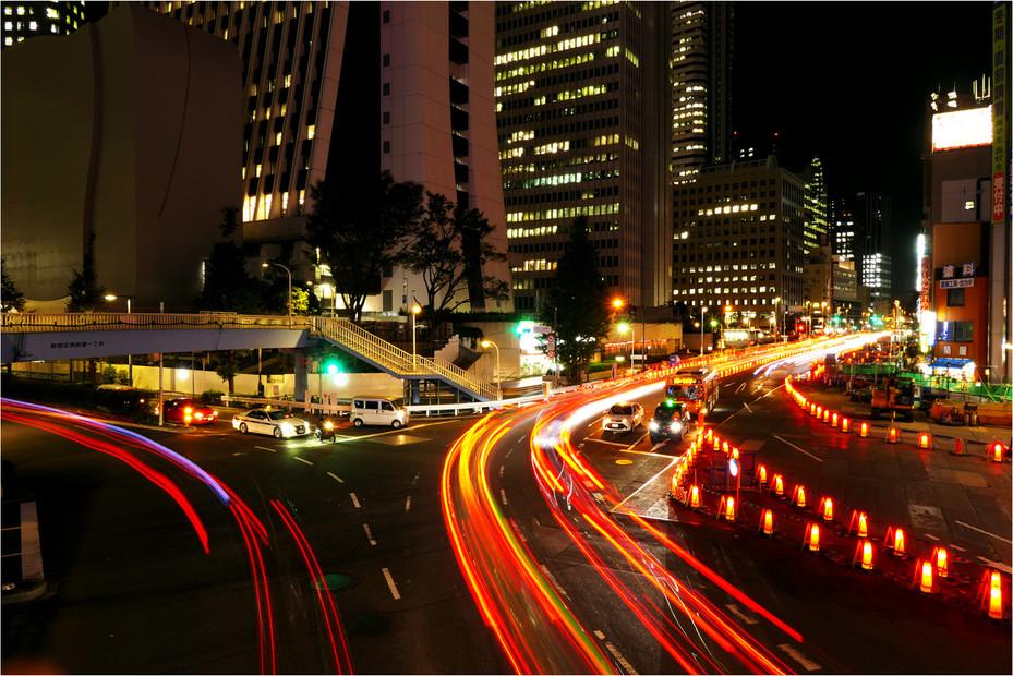 Tokyo's Night Paths