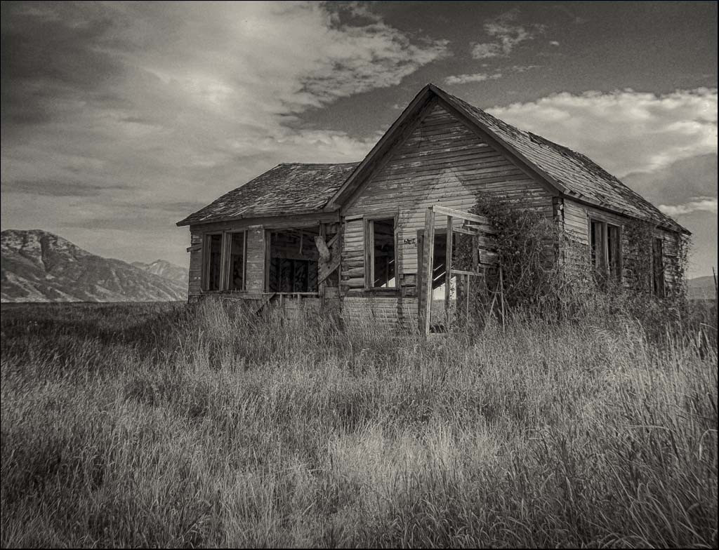 This Old House By Dave Ducommun Award POM Large Monochrome Class B