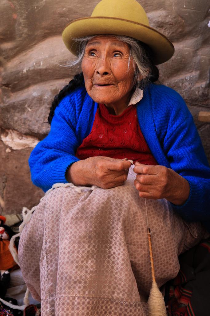Peruvian Drop Spinner