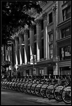 Divvy Bikes on Adams