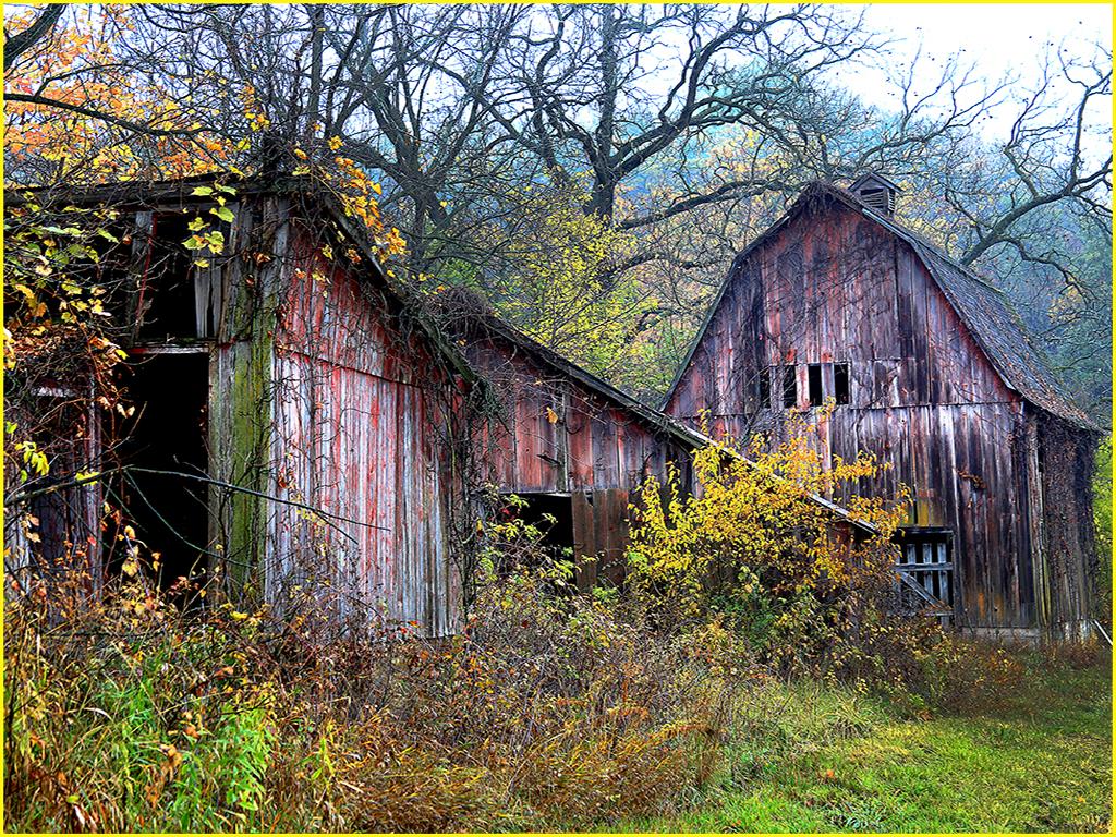 Falling Barns