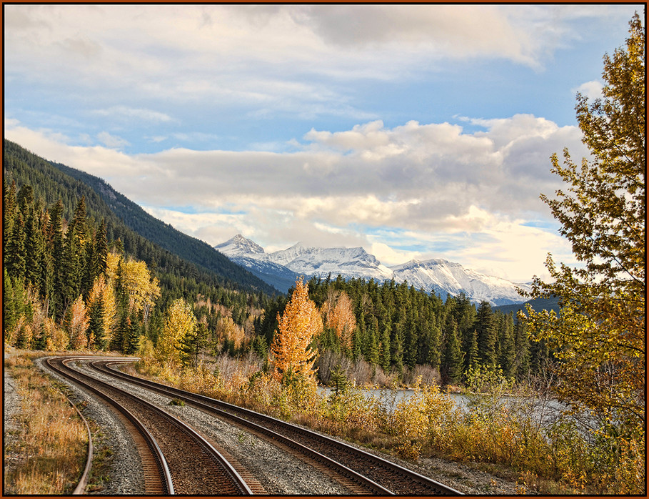 Traveling the Canadian Rockies