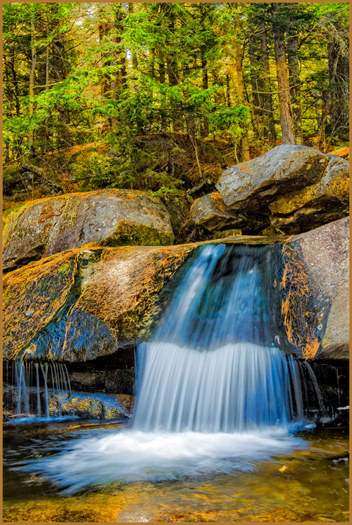 Woodsy Waterfall