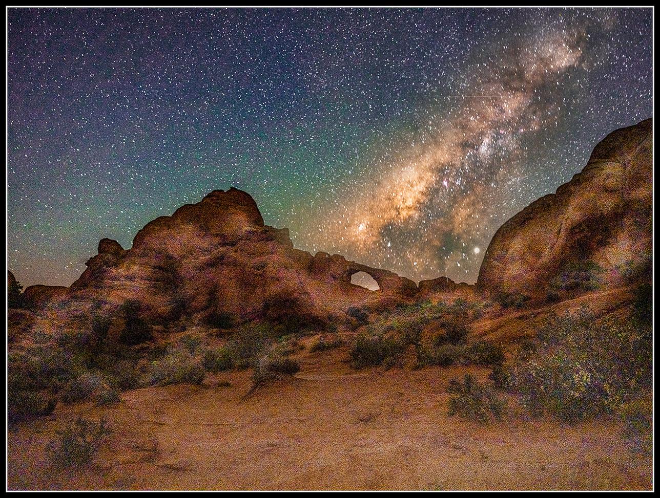 Milky Way Over Skyline Arch By Chris Foley Award  POM Small Color A