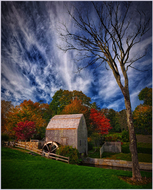 Autumn at the Old Mill