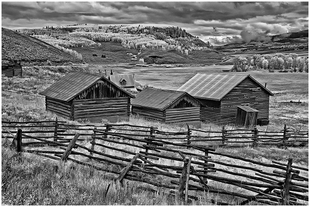 Colorado Farm in IR