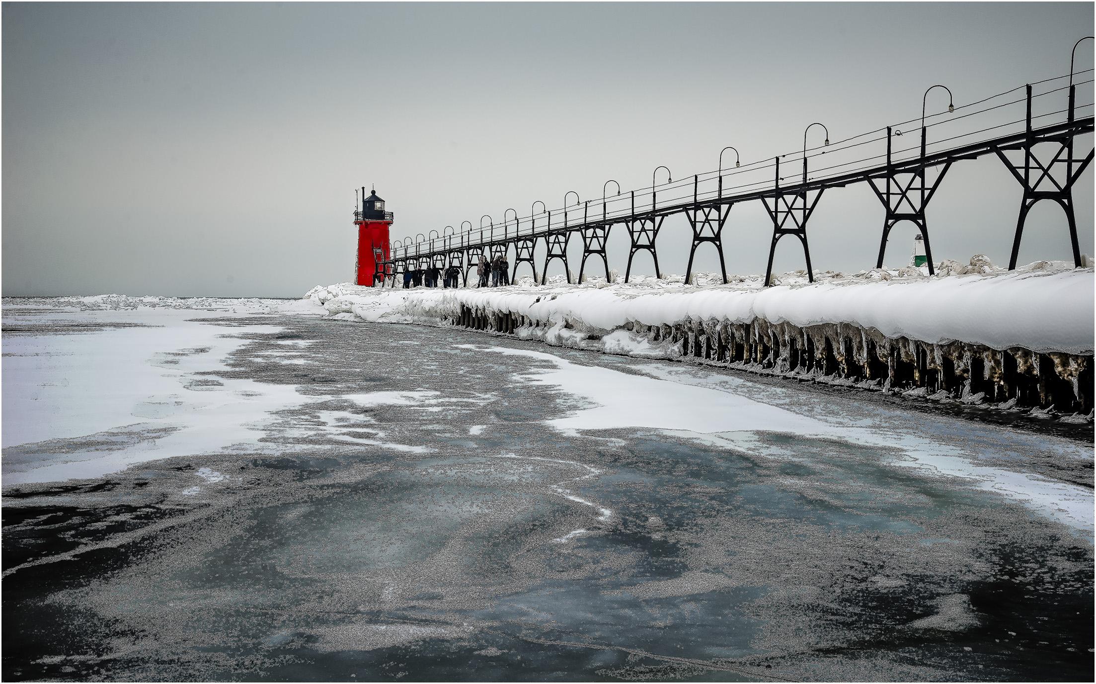 Dirty Frozen Lake