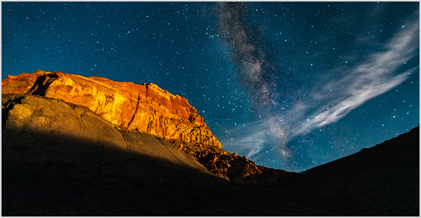 Night skys over Fruita Campground By Chris Foley  Winner Class A