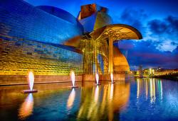 Evening at The Guggenheim