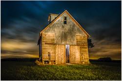 Twilight Barn