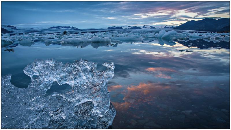 At Glaciers Edge