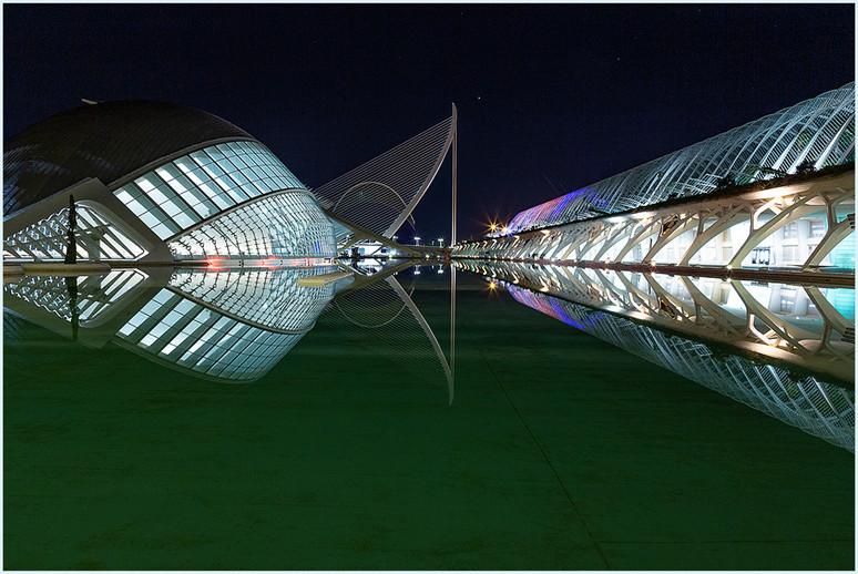 Valencia Nightscape By Jean Jung-McBride  Award Class A