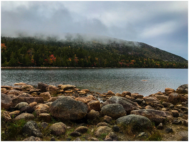 Fog on Joran Pond