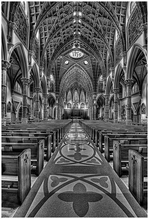 Center Aisle at Rockefeller Chapel