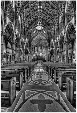 Center Aisle at Rockefeller Chapel