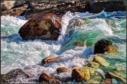 Mistaya River Rapids