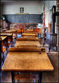 Old-time Schoolroom