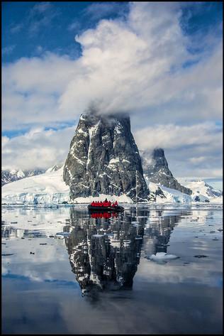 Hidden Bay-Antarctica