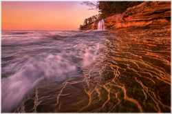 Sunset at Miner Beach