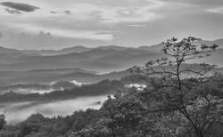 Dreamy Blue Ridge Mountains