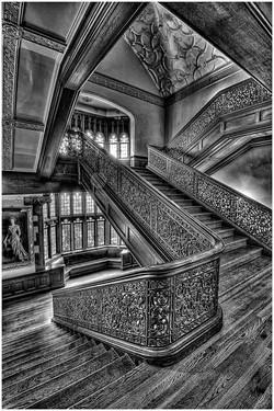Stairwell at Ida Noyes Hall