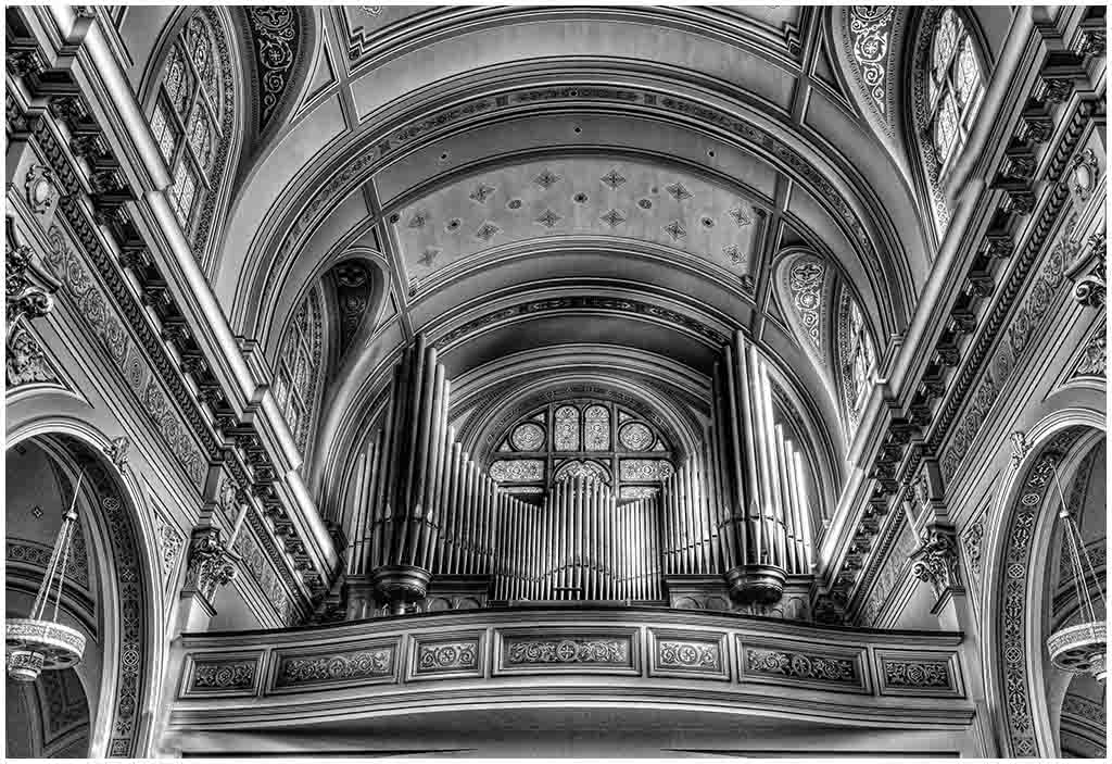 Balcony and Organ at St James
