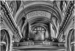 Balcony and Organ at St James