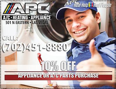 appliance & home a/c parts las vegas