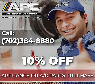 appliance home a/c, home heating and fireplace parts las vegas