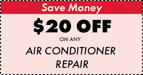 $20 off air conditioner repair