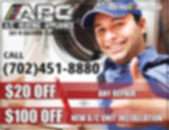 air conditioner service and install coupon Las Vegas