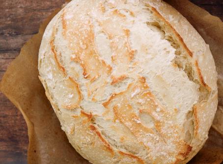 Crispy Dutch Oven Bread Recipe