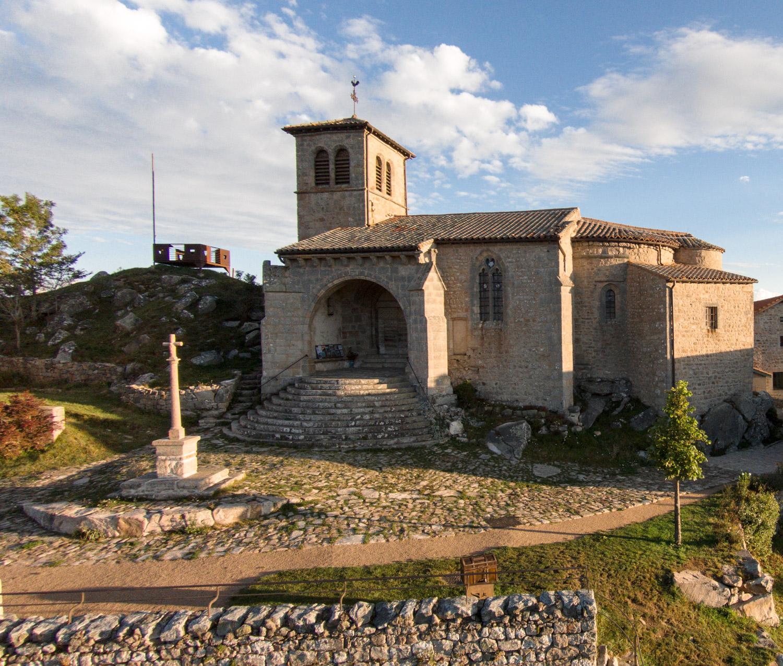 Village perché de Montarcher
