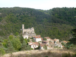 village médiéval de Chalencon