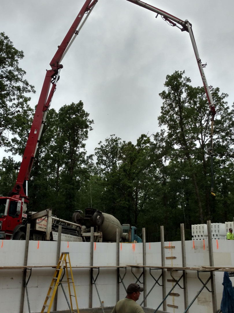 ICF Boom Pour